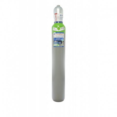 Schutzgas 18 10 Liter Flasche Mischgas 18%Co2 82%Argon Tauschflasche