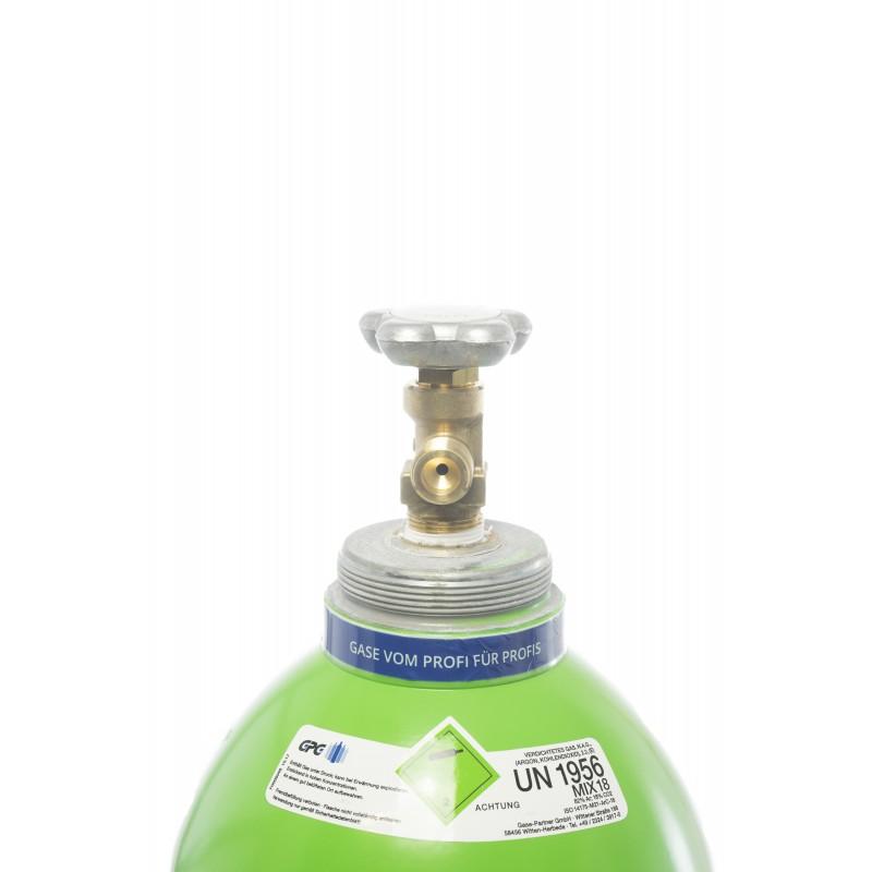 schutzgas s4 20 liter flasche schwei gas argon sauerstoff. Black Bedroom Furniture Sets. Home Design Ideas