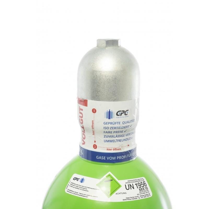 schutzgas k2 20 liter flasche mischgas mag 2 co2 98 argon. Black Bedroom Furniture Sets. Home Design Ideas