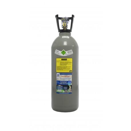 Co2-Kohlensäure Flasche 10 kg, Getränkequalität Thekenversion/ kurze Bauform