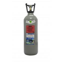 Co2-Kohlensäure Flasche 10 kg, Thekenversion/kurze Bauform mit Steigrohr