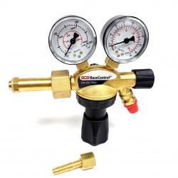 """Druckminderer """"Basic"""" Schutzgas, Argon/CO2, Eingangsdruck: 200bar, Ausgang: 0-30 l/min."""