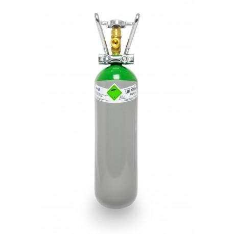 Argon 4.6 2 Liter Flasche Schweißargon WIG,MIG mit Tragegriff