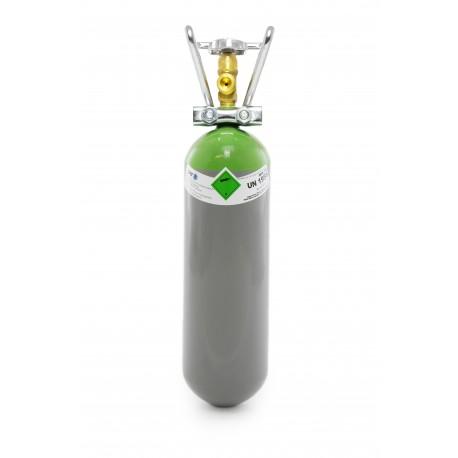Schutzgas 18 2 Liter Flasche Mischgas 18%Co2 82%Argon mit Tragegriff