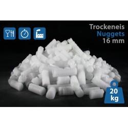 Trockeneis-Nuggets (16 mm) 20 kg inkl. Kauf-Thermo-Styroporbox