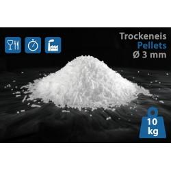 Trockeneis-Pellets (3 mm) 10 kg inkl. Kauf-Thermo-Styroporbox
