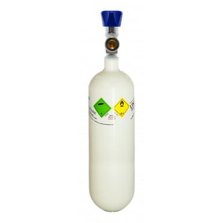 Gasflasche, Med. O2 - Sauerstoff Medizinisch nach AMG 1 Liter/ C 1