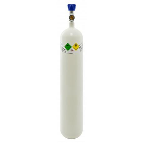 Gasflasche, Med. O2 - Sauerstoff Medizinisch nach AMG 3 Liter/ C 3