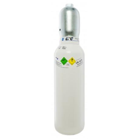 Gasflasche, Med. O2 - Sauerstoff Medizinisch nach AMG 5 Liter/ C 5