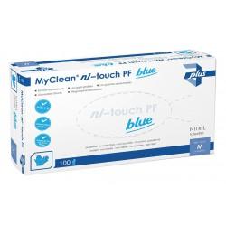MaiMed® MyClean ni-touch PF Einmalhandschuhe - 100 Stück, Größe: L