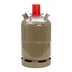 Propangasflasche 11 kg, grau, Eigentum ***GEFÜLLT***