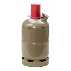 Propangasflasche 5 kg, grau, Eigentum ***GEFÜLLT***