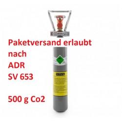 0,5 kg CO2 Flasche Getränke Kohlensäure E290 Made in Germany