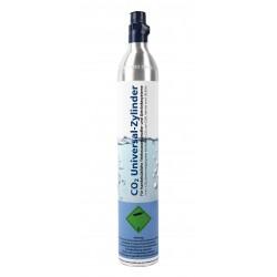 GPG Soda CO2 Universal-Zylinder für Getränkesprudler, 425 g Kohlensäure für bis zu 60 Liter Wasser