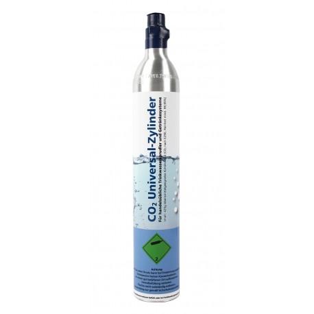 Soda CO2 Universal-Zylinder, Patrone für Getränkesprudler, 425g Kohlensäureflasche, bis zu 60 Liter Wasser