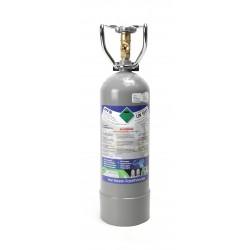 2 kg CO2 Flasche Kohlensäure E290 Mehrwegflasche für Getränkesysteme, Aquaristik, Zapfanlagen