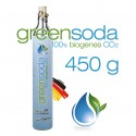 greensoda® PREMIUM XXL Universal Bio Soda-Zylinder, 450 g Kohlensäure