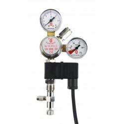Hiwi Profi Druckminderer mit Magnetventil für CO2 Mehrwegflaschen
