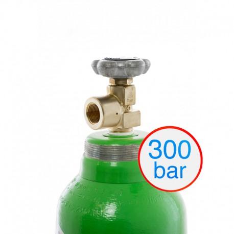 Gasflasche, Pressluft/ Druckluft technisch, 300 bar 10 Liter/ C 10
