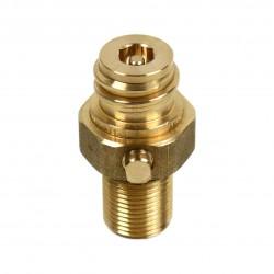 Ventil für Soda Co2 Zylinder, Ersatzventil für 425 g/60 L Sodaflasche (SodaStream) – Universalventil ohne Befüllschutz