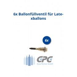 Mengenpaket: 6xBallonfüllventil für Latexballons