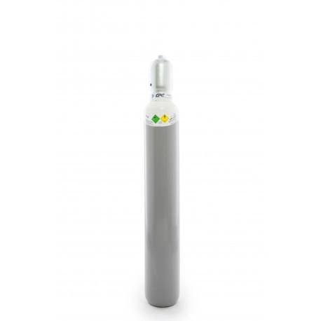 Gasflasche, Sauerstoff 2.5 10 Liter / C10