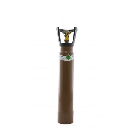 Gasflasche, Ballongas, mit Tragegriff und Standfuß 3 Liter / C3