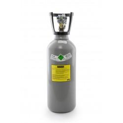 Co2-Kohlensäure Flasche 6 kg, Getränkequalität, Thekenversion/ kurze Bauform