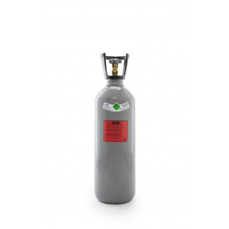 Co2-Kohlensäure Flasche 6 kg, Thekenversion/kurze Bauform mit Steigrohr