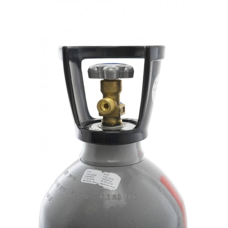 co2 kohlens ure flasche 6 kg mit steigrohr tauchrohr. Black Bedroom Furniture Sets. Home Design Ideas