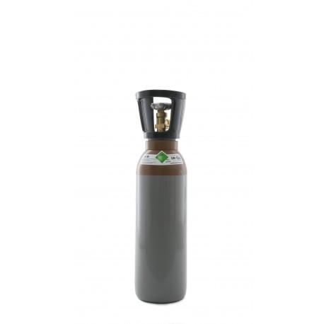 Gasflasche, Helium 4.6 (99,996 % Qualität/Reinheit) 5 Liter /C 5