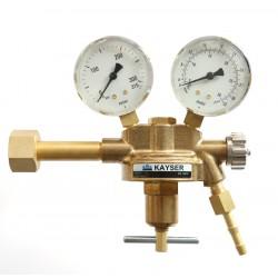 """Argon/CO2, Schutzgas Druckminderer """"KAYSER"""" Profi Eingang: 200bar Ausgang: 0-30 l/m WIG,MIG,MAG,TIG"""