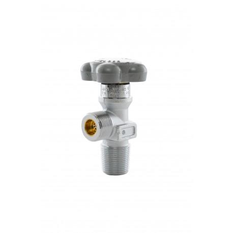 "Med. Sauerstoff-Restdruckventil (RPV), G3/4"", 25E, DIN 477 Nr.9 (Messing-verchromt) 200 bar"