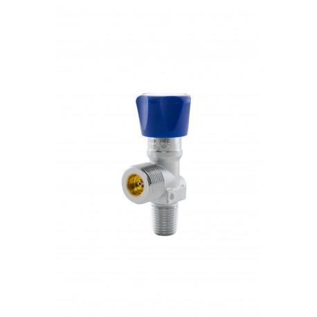 "Med. Sauerstoff-Restdruckventil (RPV), G3/4"", 17E, DIN 477 Nr.9 (Messing-verchromt) 200 bar"