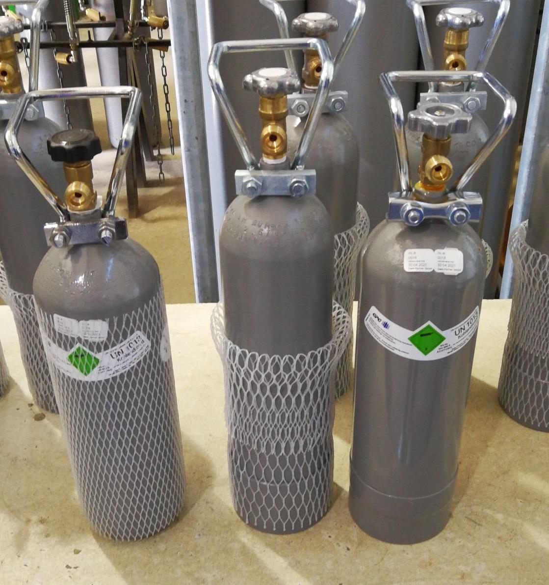 NSA Kohlendioxid CO2 Lebensmittel CO2 Kohlensäure 1,1 KG Füllung für NSA Flasche