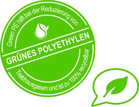grünes Polyethylen